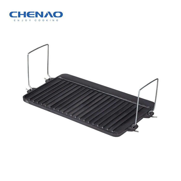 Square Pan Cast Iron Grill 07